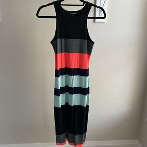 Express Striped Colorblock Dress - Sz S